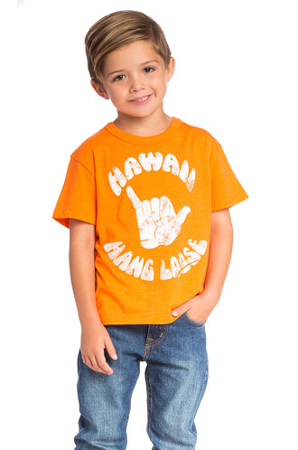 loose orange top