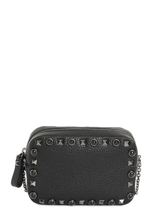 mini noir bag leather bag leather black