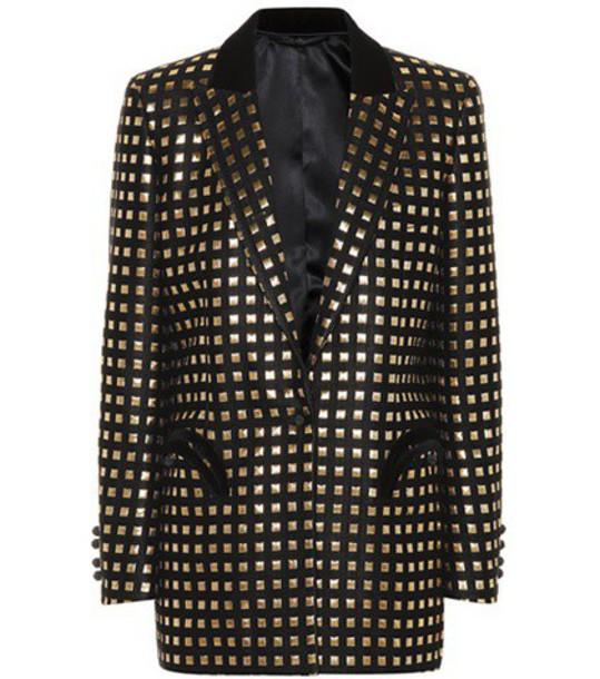 Blazé Milano Jacquard jacket in black