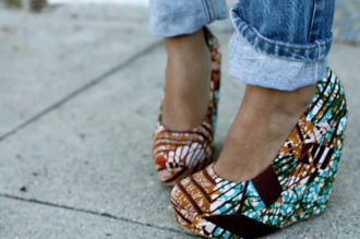 shoes wedges white turquoise brown wedges black sublime i want this shoes! summer shoes high heels ethnic red