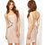 'Parker' Gold Accent Apricot Bandage Dress from Tumblr Fashion on Storenvy