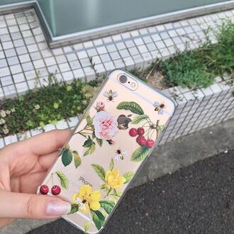phone cover yeah bunny iphone iphone case iphone cover cherry floral