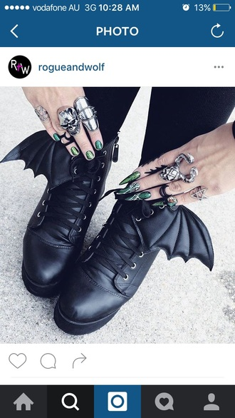 shoes batman goth shoes hipster cool