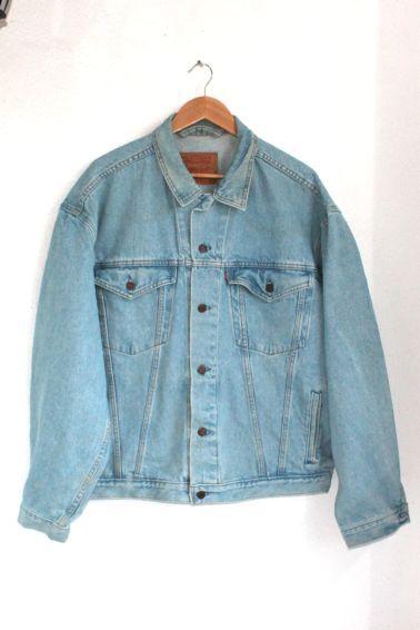 Vintage Oversized Levi's Denim Jacket 5016 CHEST5 50 52 | eBay