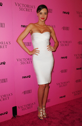 dress herve leger miranda kerr