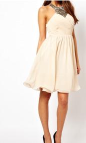 dress,cream