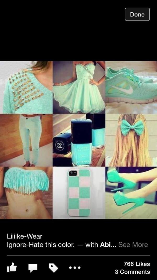 shoes dress blue dress cute dress sky blue prom dresses