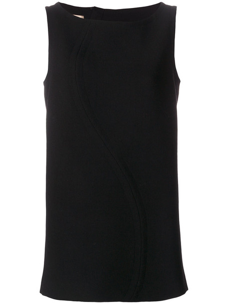 MARNI tank top top zip women black silk wool