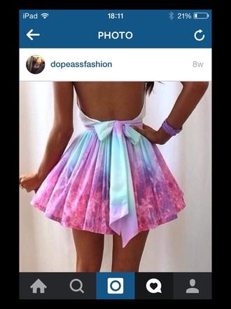 dress galaxy dress multicolour dress