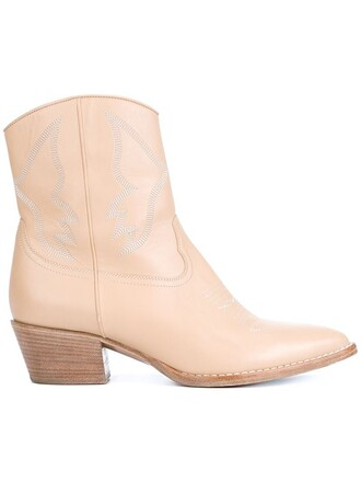 booties nude shoes