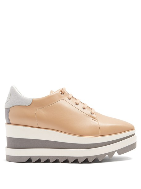 Stella McCartney leather nude shoes