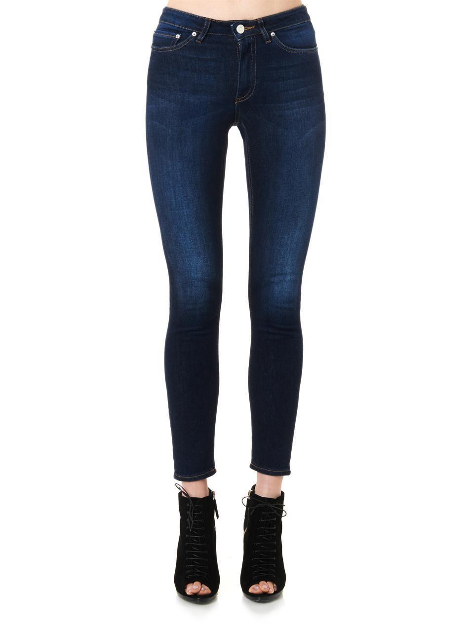 Skin 5 mid-rise skinny jeans | Acne Studios | MATCHESFASHION.COM