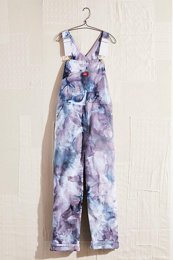Tie Dye Overalls
