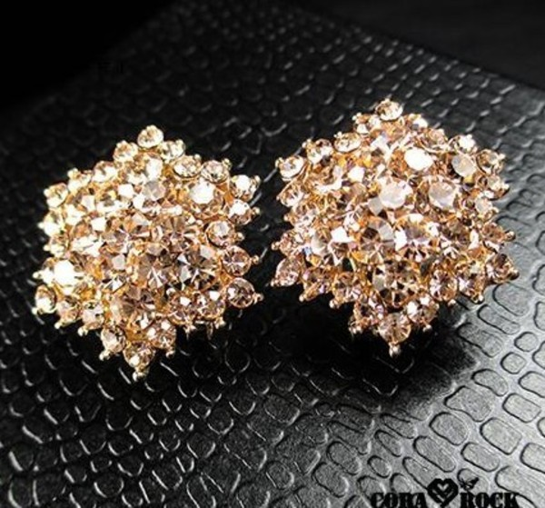 jewels earrings crystal nice