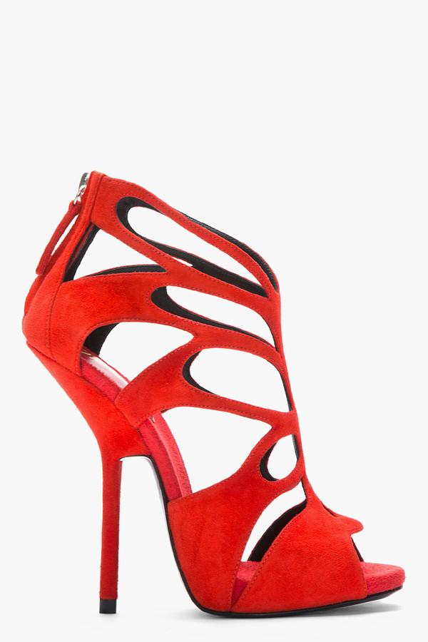 shoes guiseppe zanotti redheels