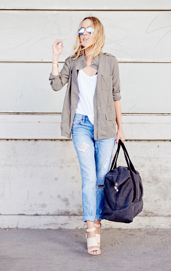 damsel in dior blogger bag jeans jacket shoes jewels