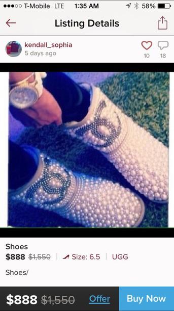 shoes pearl uggs newcrystalwave newcrystalwaveshoes newcrystalwavebling