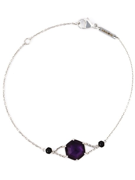 Stephen Webster women gold purple grey metallic jewels