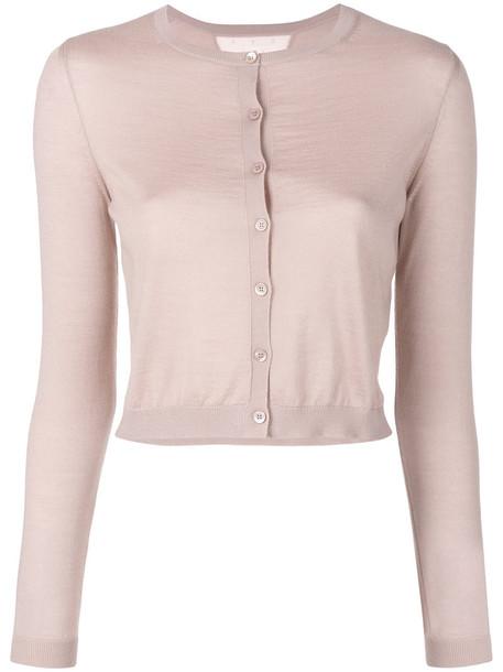 cardigan cardigan long women silk purple pink sweater