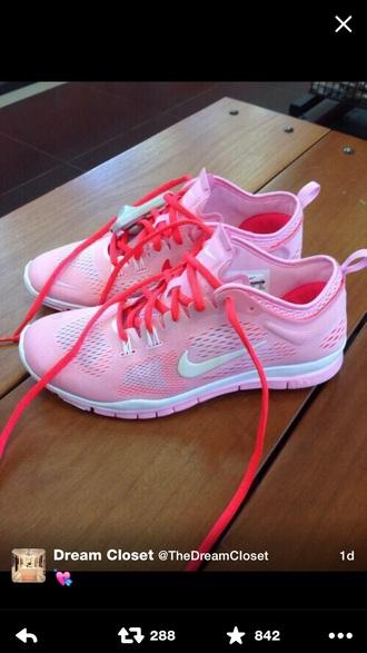shoes nike nike running shoes pink