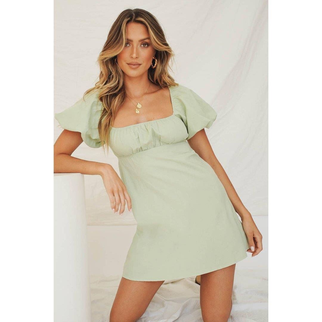 VG Lou Lou Mini Dress // Mint
