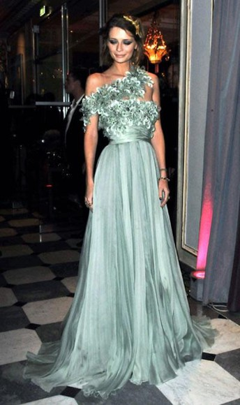 dress mint beautiful pro prom mint green dress green dress mischa barton deep green elie saab