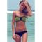 Fashion strapless zip up low rise beach bikini set for women_14.16