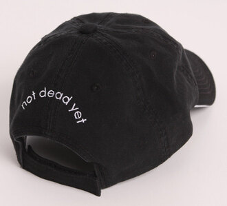 hat black and white casual casquette urban