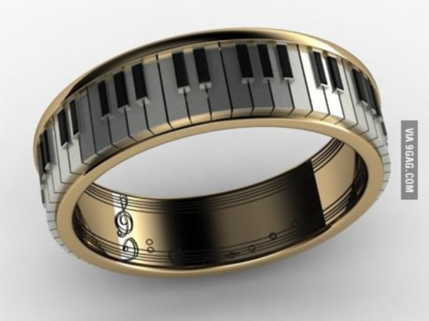 jewels piano ring music ring dope piano bangle bracelet piano jewelry piano music note swag