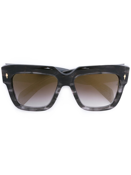 Jacques Marie Mage women sunglasses grey