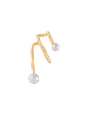cuff ear cuff metallic jewels