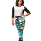 Floral print joggers | garb boutique