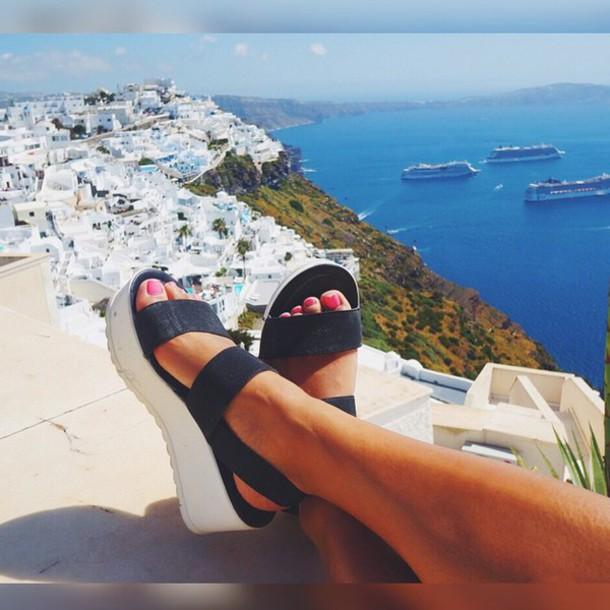 d2cbe15c1a5 shoes bamboo sandals platform shoes flatforms platform sandals flatform  sandals strappy shoes strappy sandals black shoes