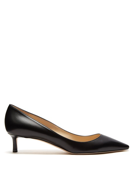 Jimmy Choo pumps leather black shoes