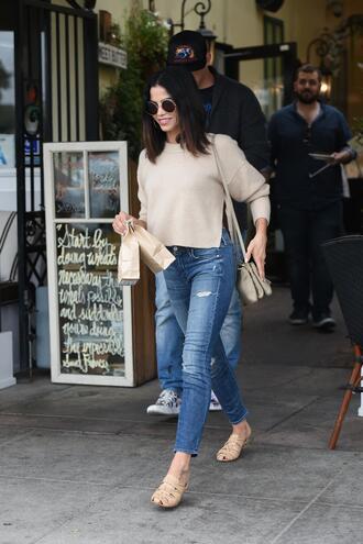sweater jenna dewan jeans denim spring outfits streetstyle
