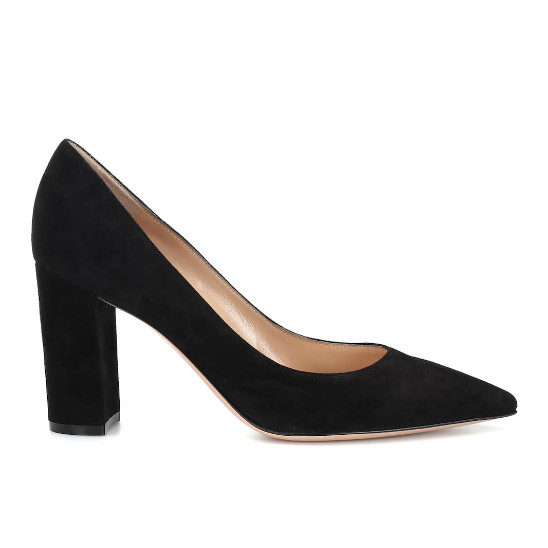 Gianvito Rossi Piper 85 suede pumps · Kate Middleton Style Blog