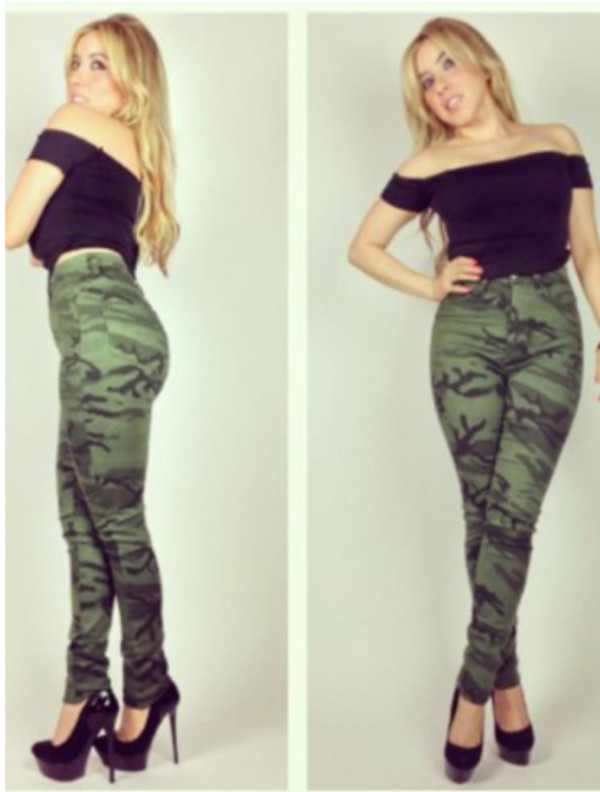 jeans camouflage