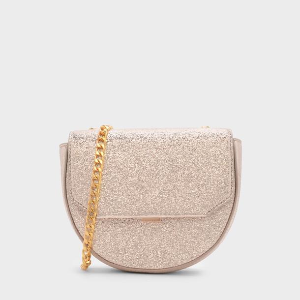 moon bag crossbody bag gold