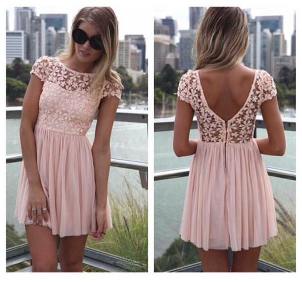 dress cute pink