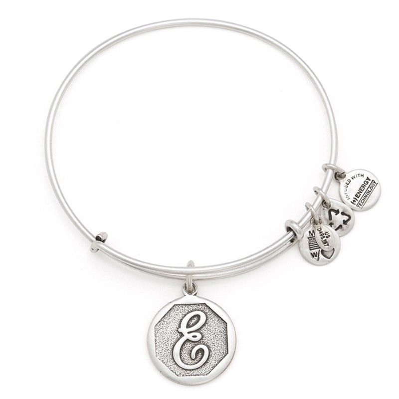 Initial E Charm Bracelet | Alex and Ani