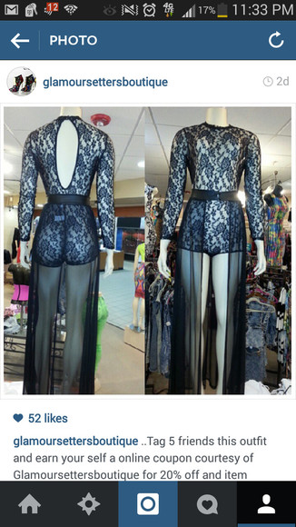 lace up bodysuit chiffon skirt sheer