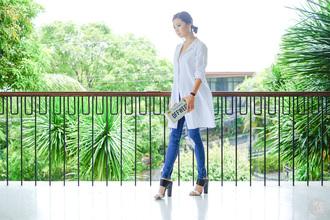 kryzuy blogger top jewels shoes jeans bag
