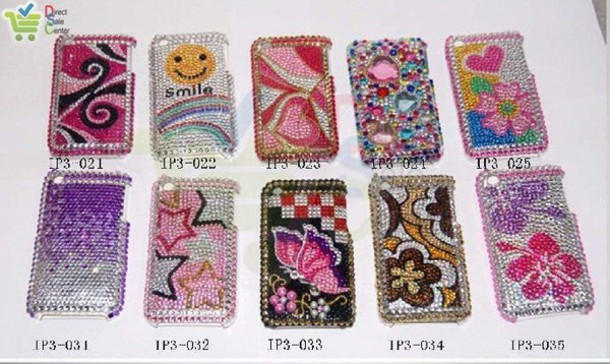 phone cover rhinestones