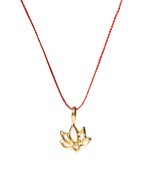 Dogeared good karma necklace at asos