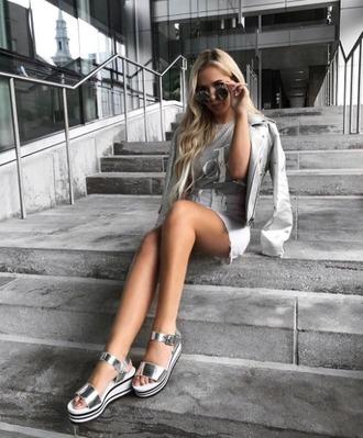 shoes aldo platform shoes platform sandals silver platform shoes silver shoes silver sandals sporty sporty luxe summer outfits