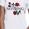 Nothing rose tee awesome tshirt women and unisex adult