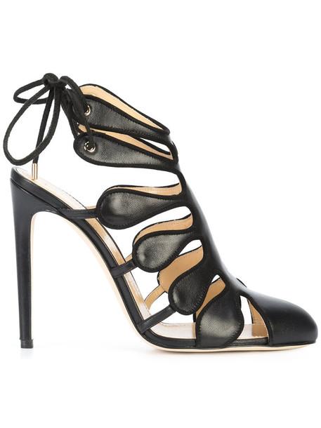 CHLOE GOSSELIN women pumps leather black shoes