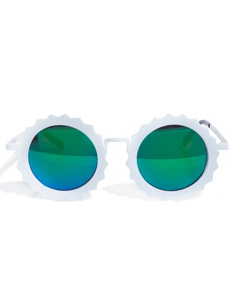 sunglasses white sunglasses sunnies round sunnies pixiemarket statement sunglasses trendy sunglasses round sunglasses