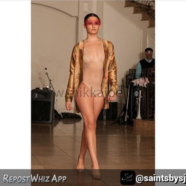 jacket saints by sj blazer one piece swimsuit one piece