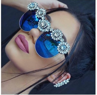 sunglasses jewels jewelry accessories flowers hipster hippie